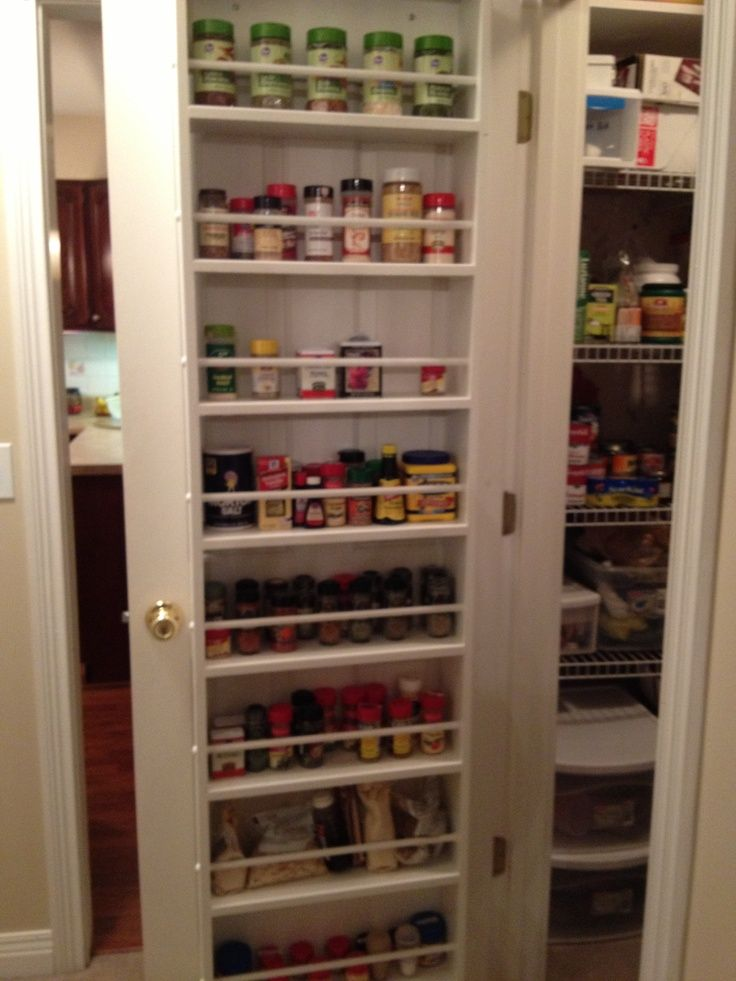 Image Result For Spice Rack Inside Cabinet Door Cleaning