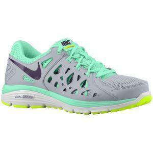 Nike Dual Fusion Run 2 Women's Wolf GreyVoltGreen Glow