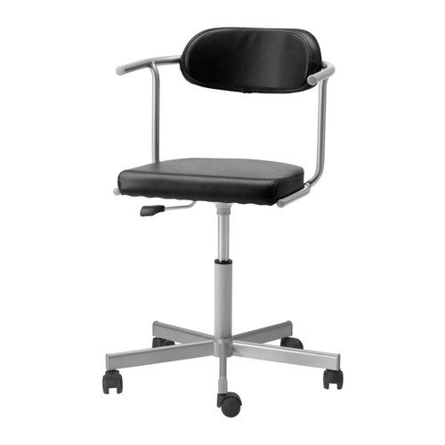Rutger Jules Swivel Chair With Casters Ikea Height Adjustable For A