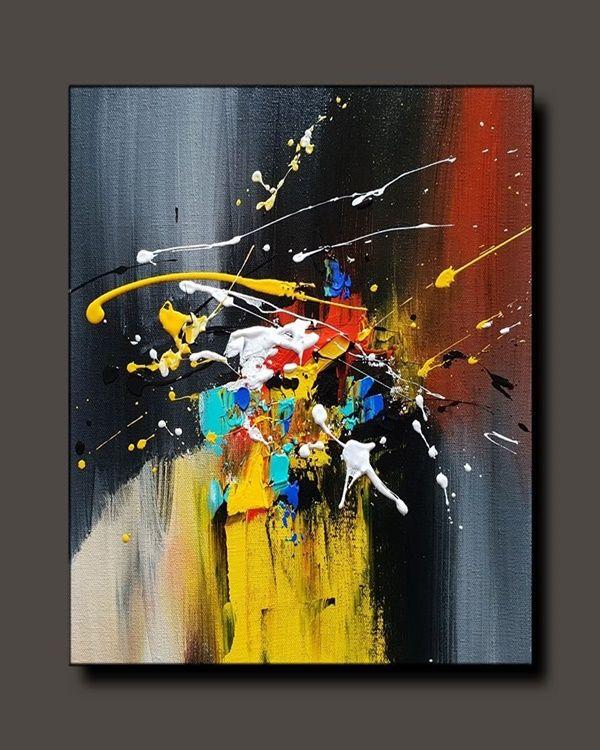 40 Best Canvas Painting Ideas For Beginners Abstrakte Malerei