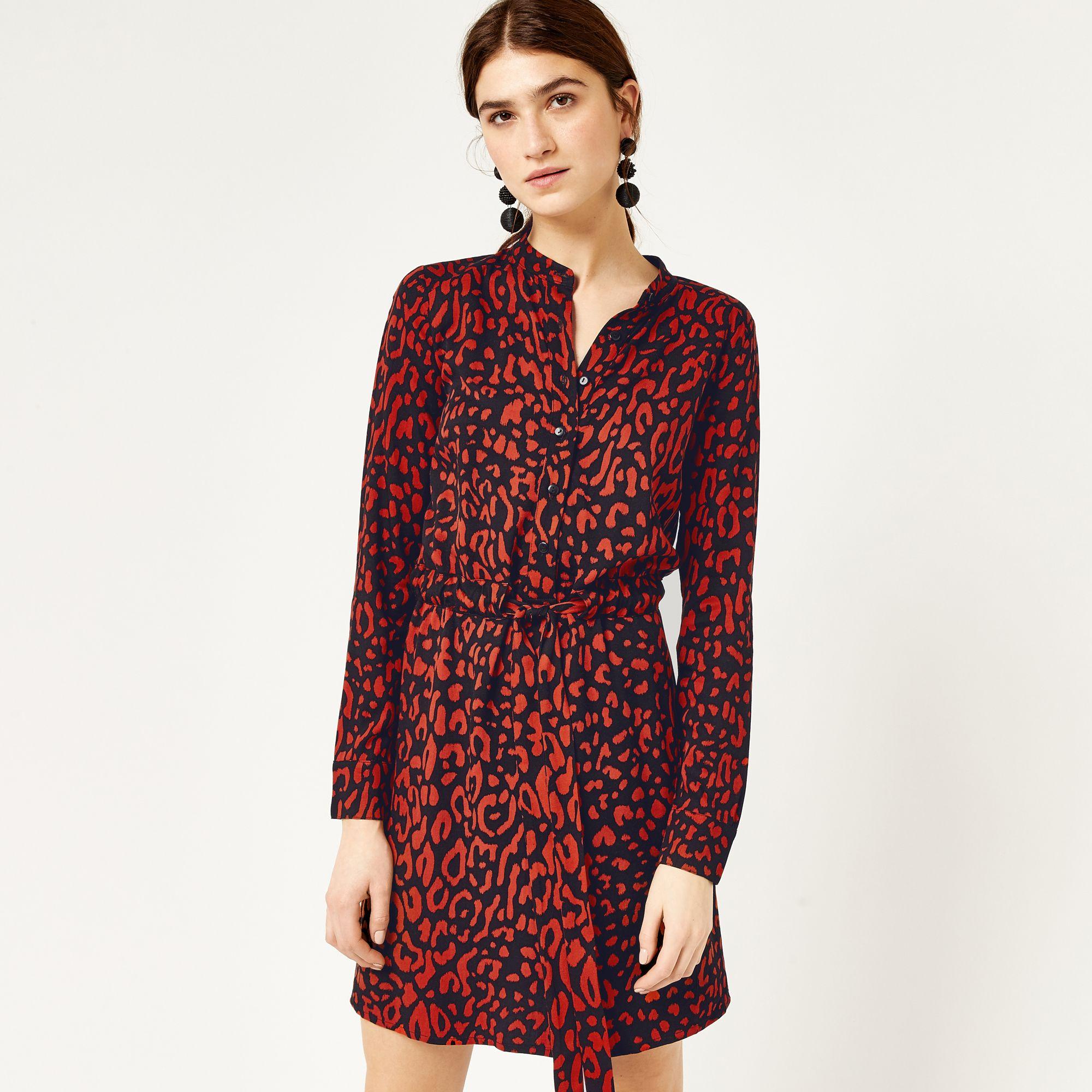 3672b483df2e Leopard print shirt dress in 2018 | { a red moment } | Pinterest ...
