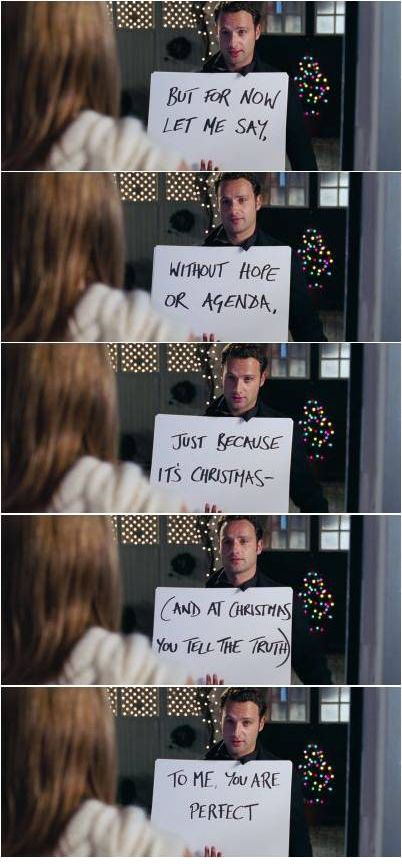 A Favorite Movie Moment And At Christmas You Tell The Truth Love Actually 2003 Love Actually Love Movie