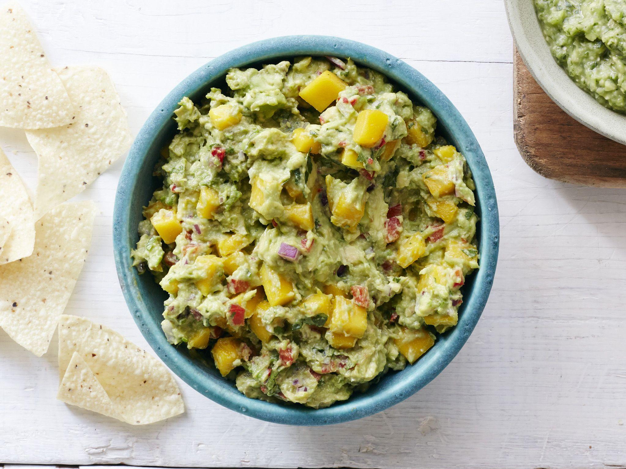 Chunky mango guacamole recept forumfinder Choice Image