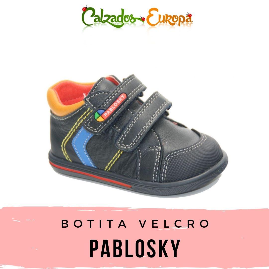 2019Calzado Pablosky Gris Velcros Con 036952 En Botita Sport wmn08vN
