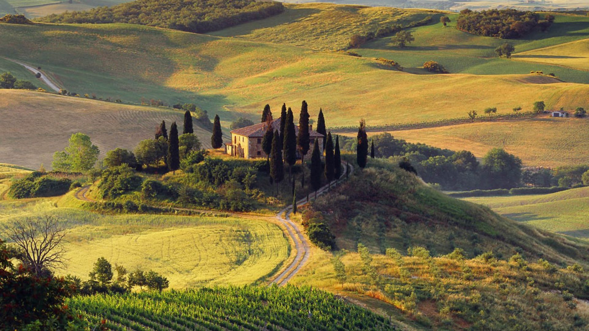 Download At Wallpaperbro: 65+ Tuscan Landscape Wallpapers