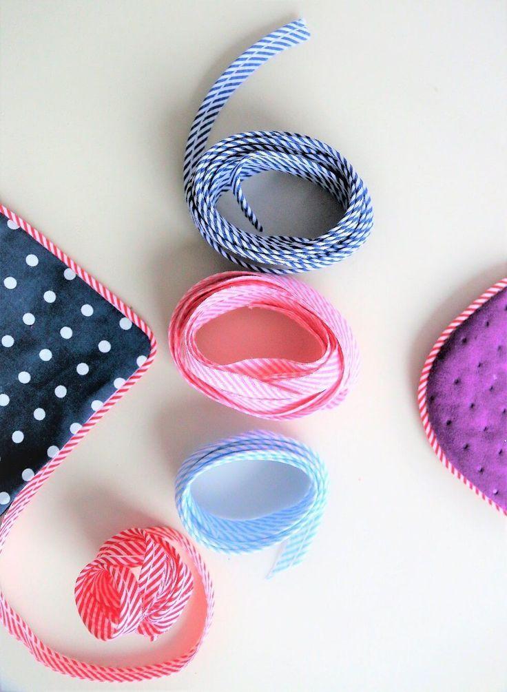 ᐅ Paspel nähen - so geht's! #embroiderypatternsbeginner