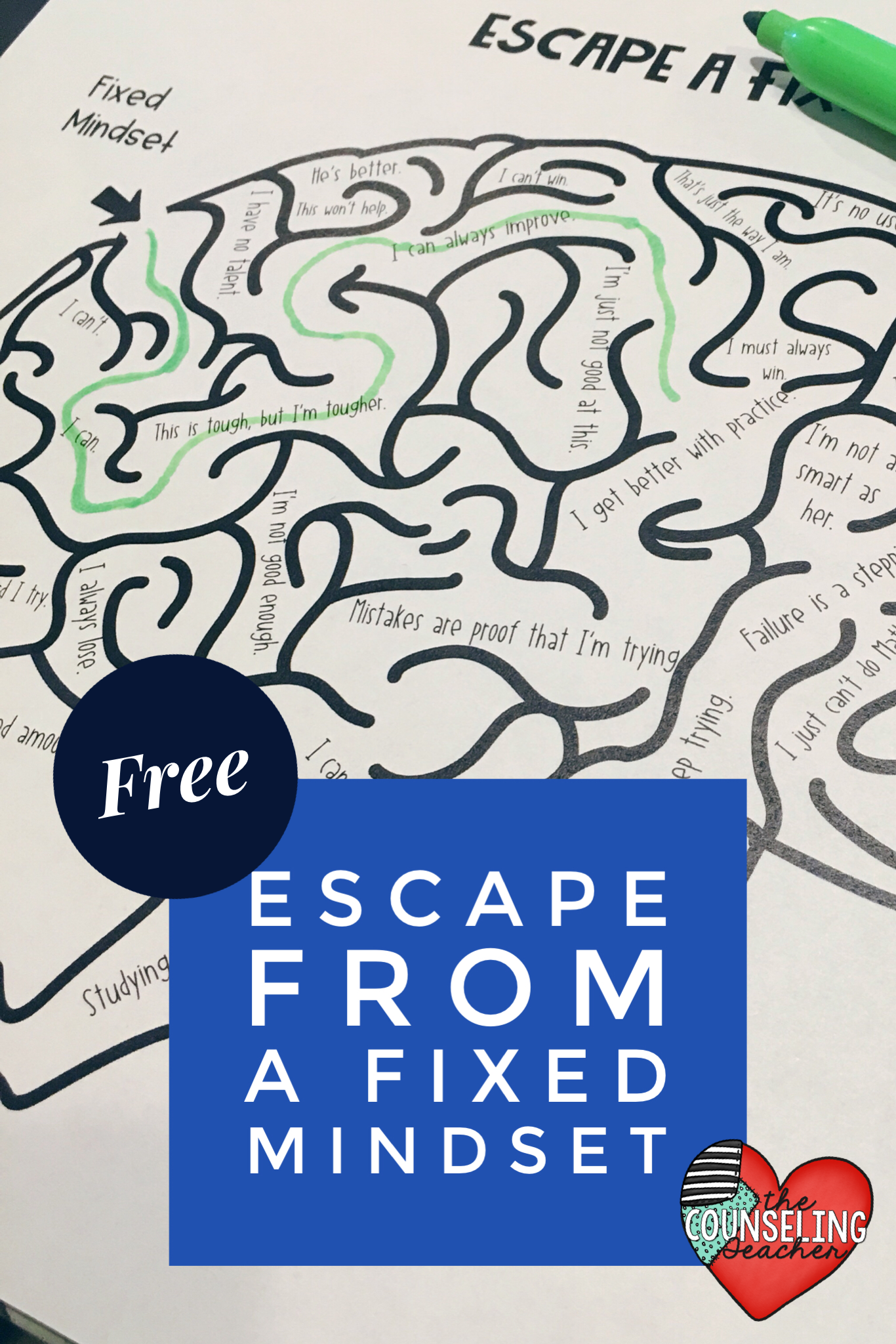Escape A Fixed Mindset Maze