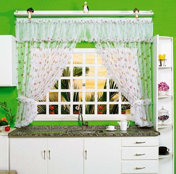 ▷ Küchengardinen modern - vervollständigen Sie Ihre - moderne k che gardinen
