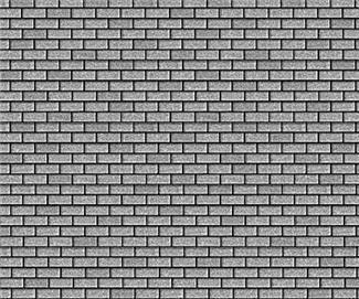 Medium Gray Roof Shingle Paper 4 Sheets O Scale