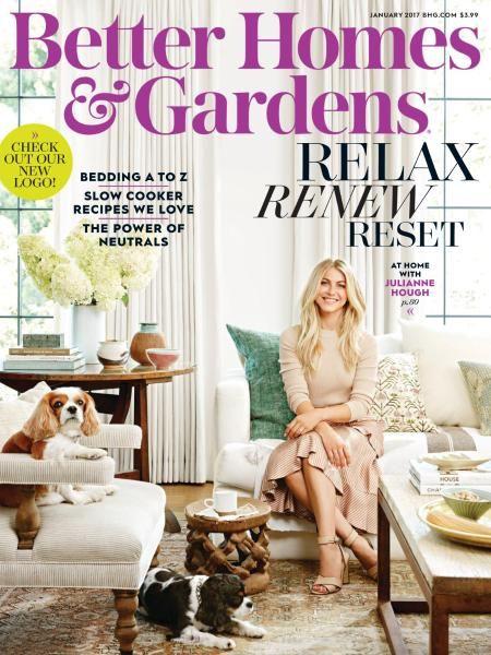 Better Homes And Gardens USA   January 2017