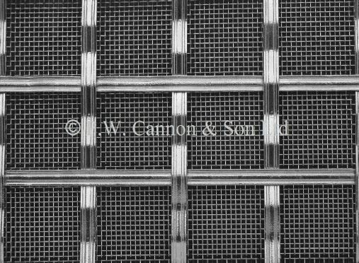 Woven Grille For Use In Radiator Covers Cabinets And As Screening Panels Metal Grill