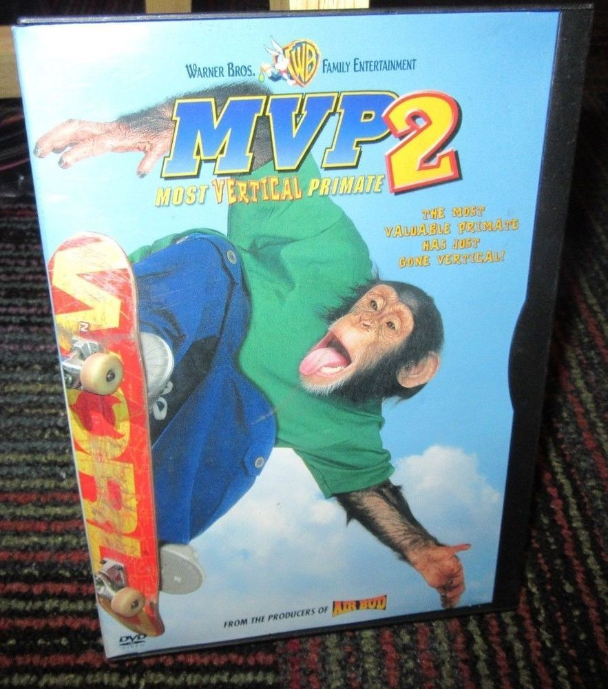 MVP 2: MOST VERTICAL PRIMATE DVD MOVIE, RICHARD KARN