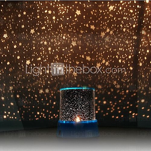 Starry Night Sky Projector Colorful Led Night Light Random Color Powered By 3 Aa Battery Usd 9 99 Star Night Light Night Light Lamp Led Night Light
