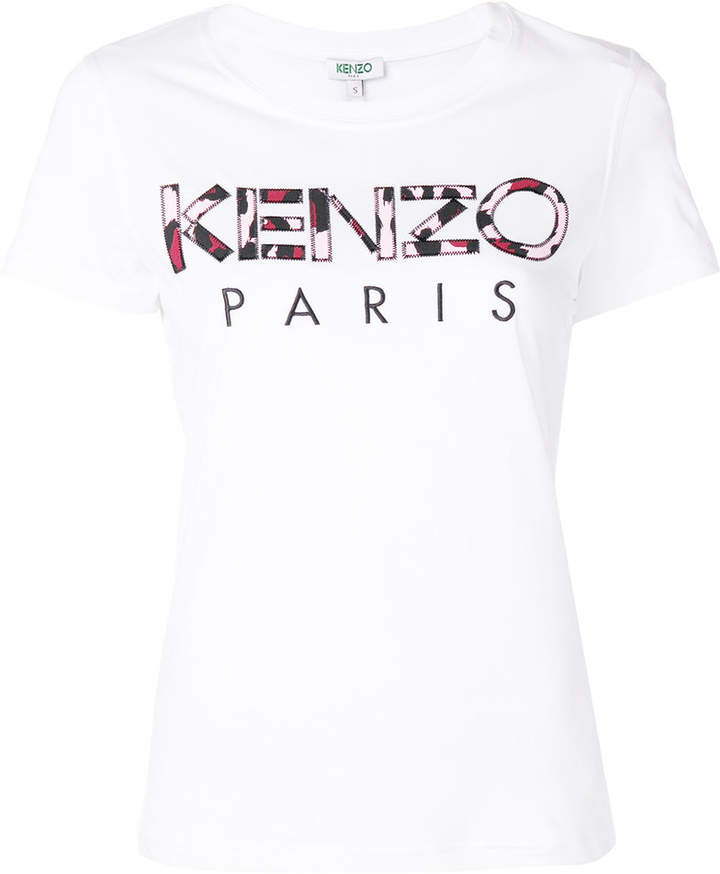 4d9a0870 Kenzo Leopard Print Paris T-shirt | Products | Paris t shirt, T ...