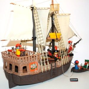 playmobil 3550 bateau pirate pinterest. Black Bedroom Furniture Sets. Home Design Ideas