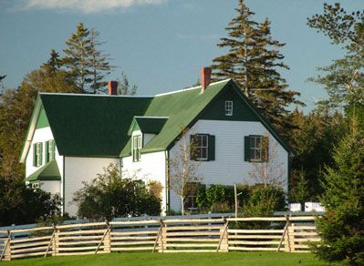 Green Gables House Pei Canada Prince Edward Island Gable