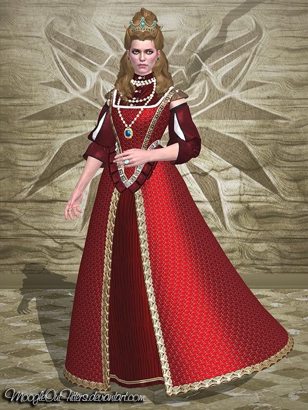 The Witcher 3 - Anna Henrietta (Red Dress) by ...