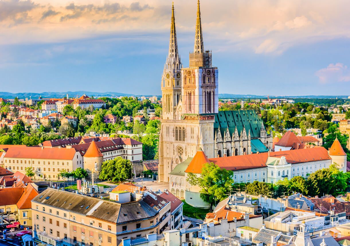 New Vr Technology Travelers A Glimpse Of The Past In Zagreb Travel Earth Croatia Travel Croatia Holiday Zagreb