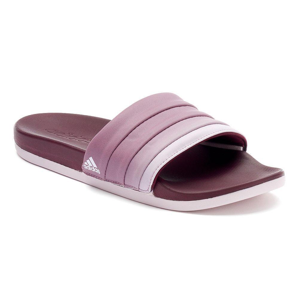 fecc50a64ac7 Adidas adilette Cloudfoam Women s Ombre Slide Sandals