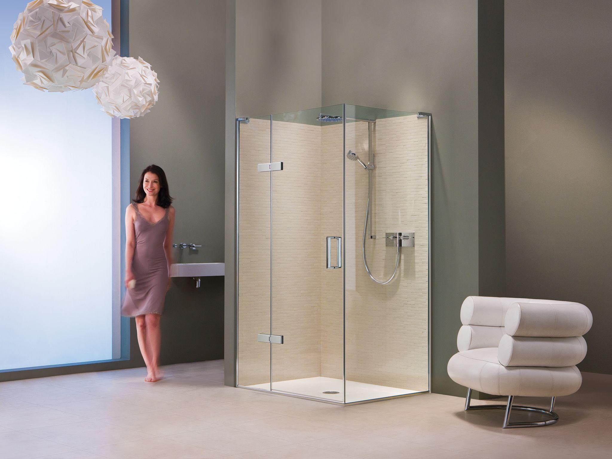 Matki EauZone Plus Hinge Panel for Corner #luxury #shower #neutral ...