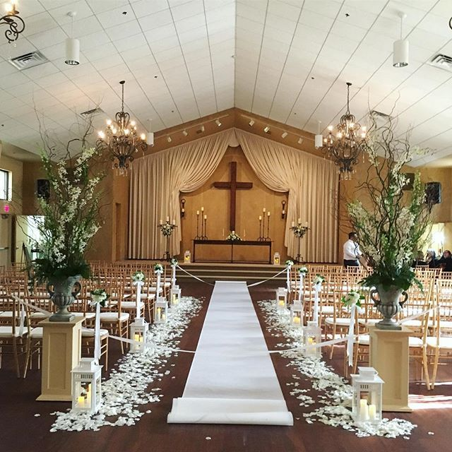 Indoor Wedding Venues: Our Indoor Ceremony Was Magical Yesterday Thanks To Garden