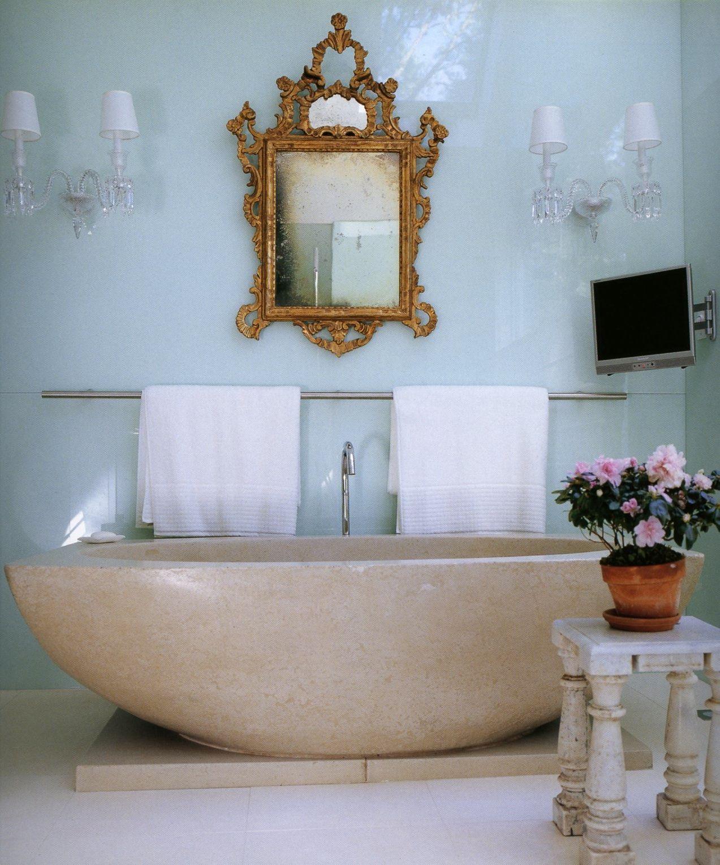 Luxury mirror for a big bathroom, #uxurybathroom #luxurymirror ...
