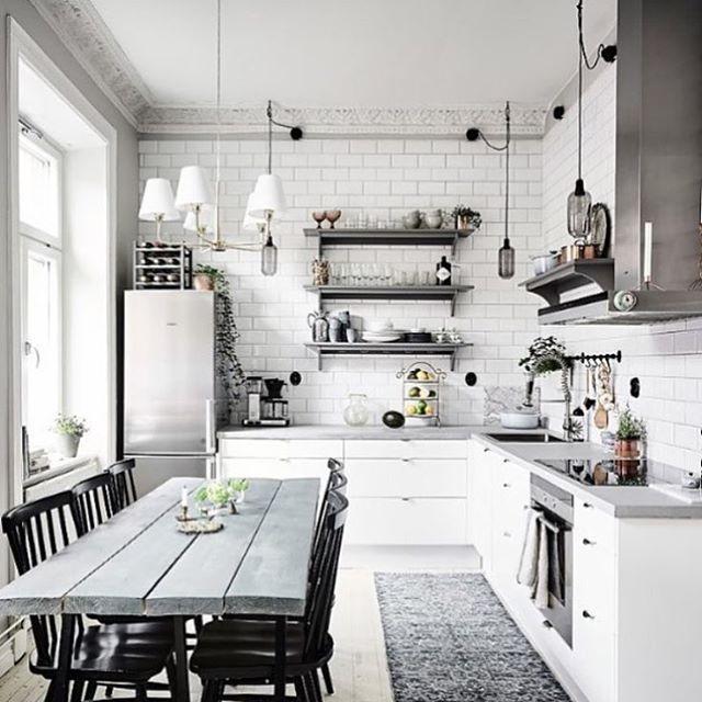 Instagram Photo By Interior More May 31 2016 At 10 32am Utc Scandinavian Kitchen Design Interior Design Kitchen Chic Kitchen