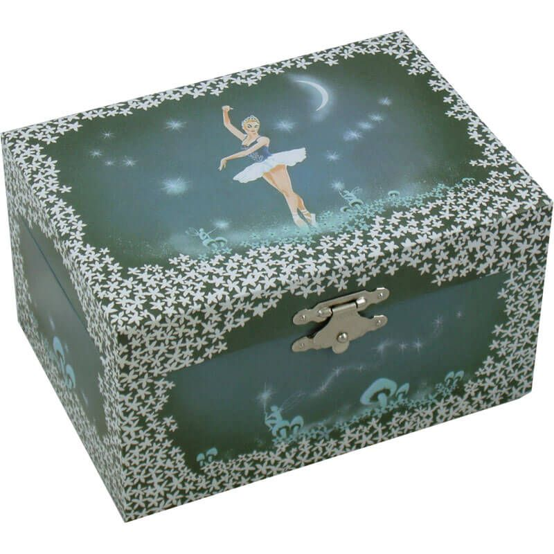 NJ Dean Ballerina Fairy Musical Jewellery Box This magical jewellery