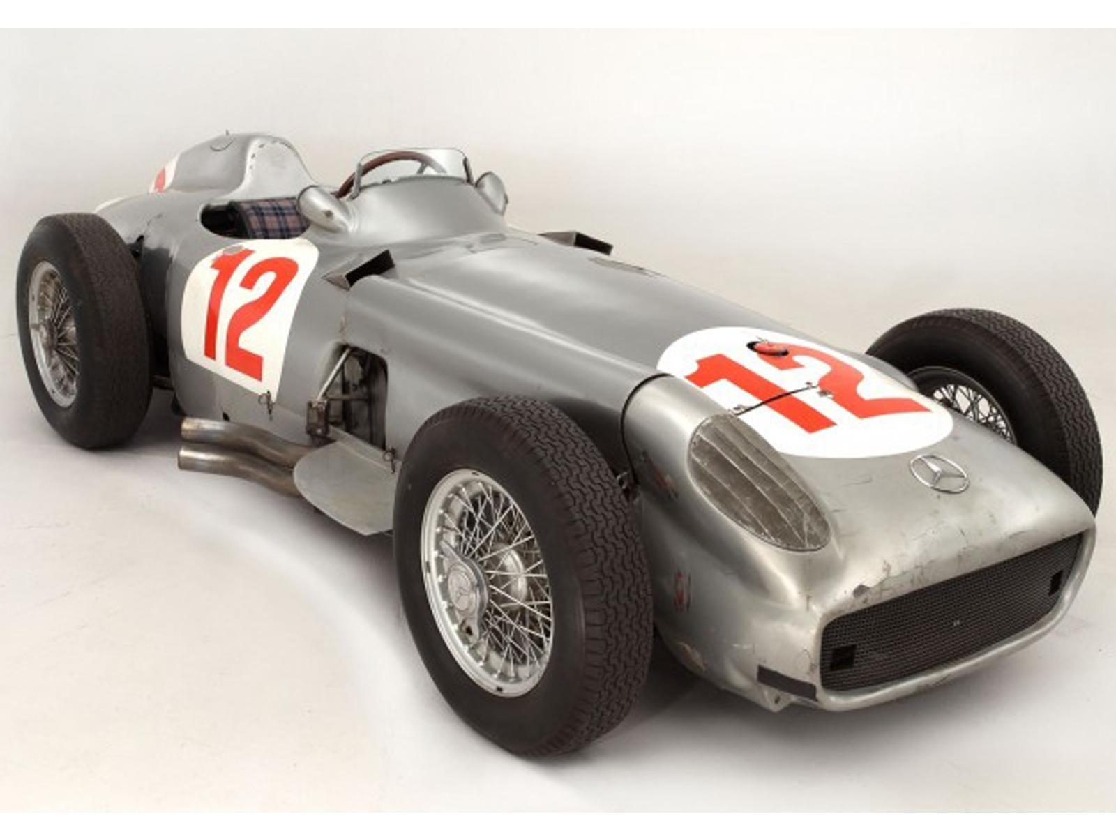 Juan Manuel Fangio Mercedes F1