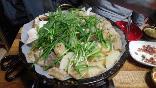 부추소곱창 #korea #hanbros #food