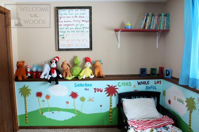 Dr Seuss Children\u0027s Bedroom #kidspace Bedrooms - Childrens Bedroom Ideas