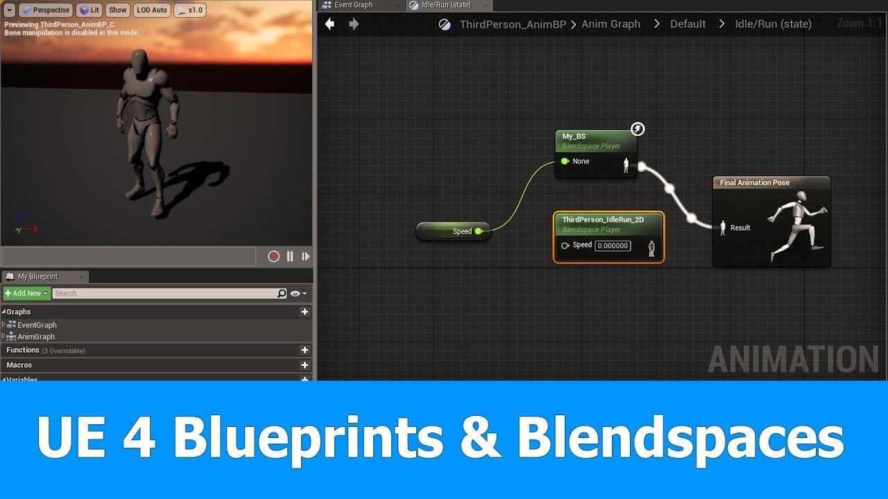 Unreal engine animation blueprints blendspaces ue4 tutorials unreal engine animation blueprints blendspaces malvernweather Choice Image