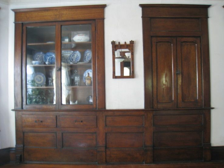 Dining Room Built In Cabinet And Dumbwaiter Looks A Little Like