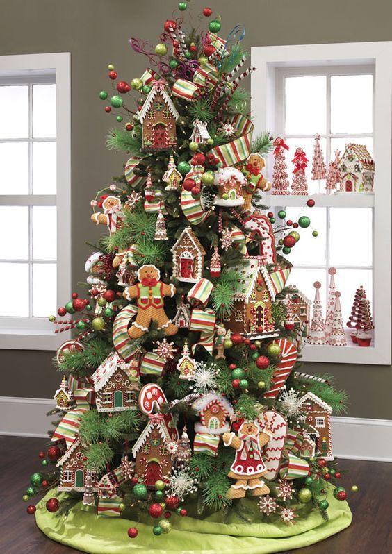 Decoracion De Arboles Navidenos Arbol Navideno Arbol De Navidad - Como-decorar-el-arbol-navideo