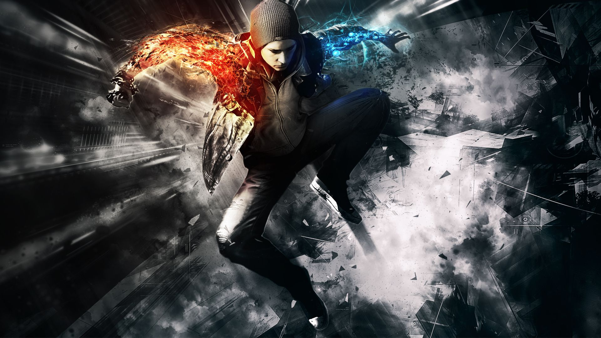 Pin by marina rosalez on backgrounds infamous second son video game backgrounds gaming - Video game live wallpapers ...
