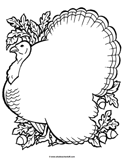Turkey Coloring Page Outline Or Shape Book Thanksgiving Coloring Pages Turkey Coloring Pages Coloring Pages