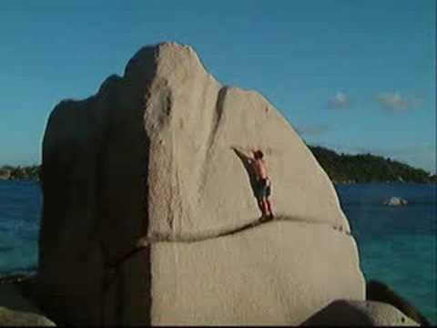 Bouldering - Seychelles