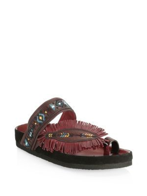 Ebann leather sandals Isabel Marant ZnjtPy9Wp9