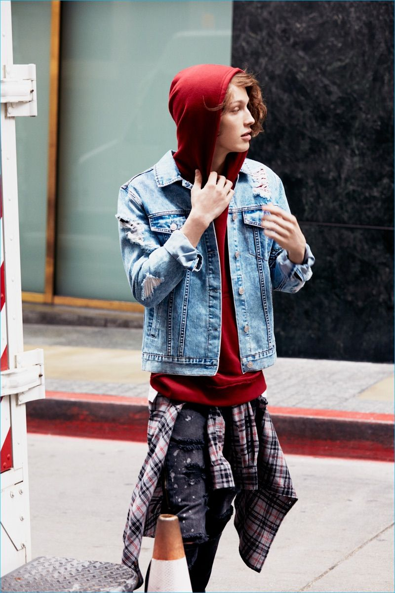 Forever 21 Men Champions Street Grunge Style for Fall
