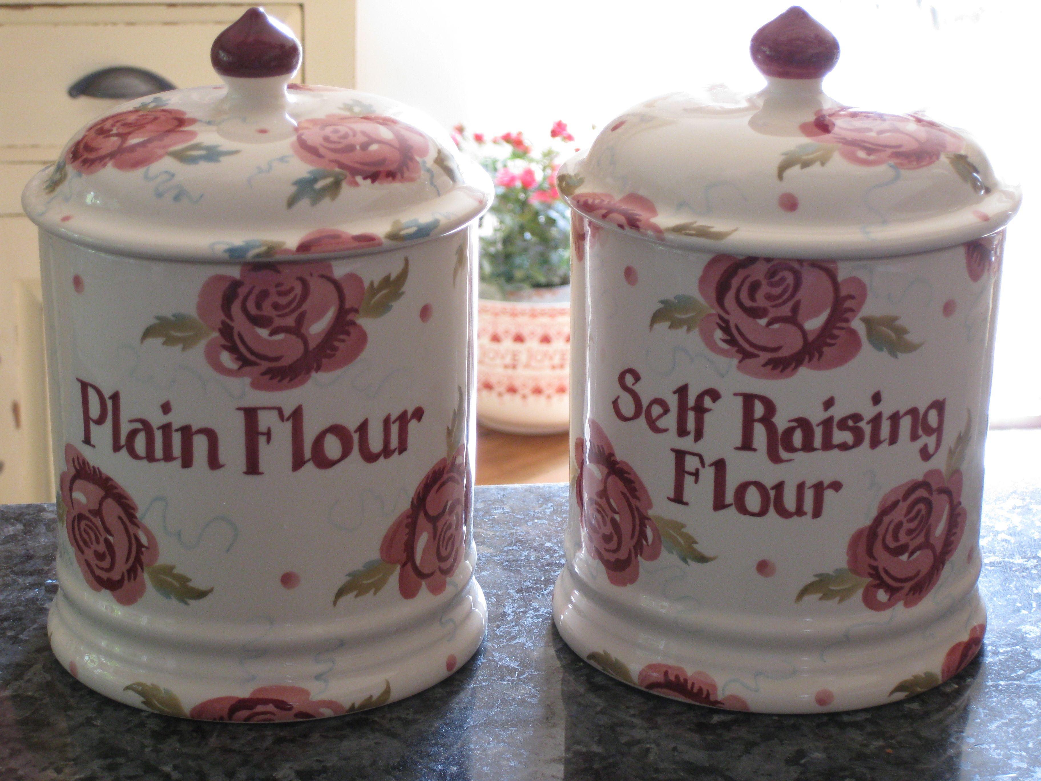 Emma Bridgewater Personalised ROSE BEE 2 Pint Storage Jars