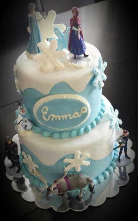 Happy Birthday Emma Frozen Happy Birthday Marla Cake