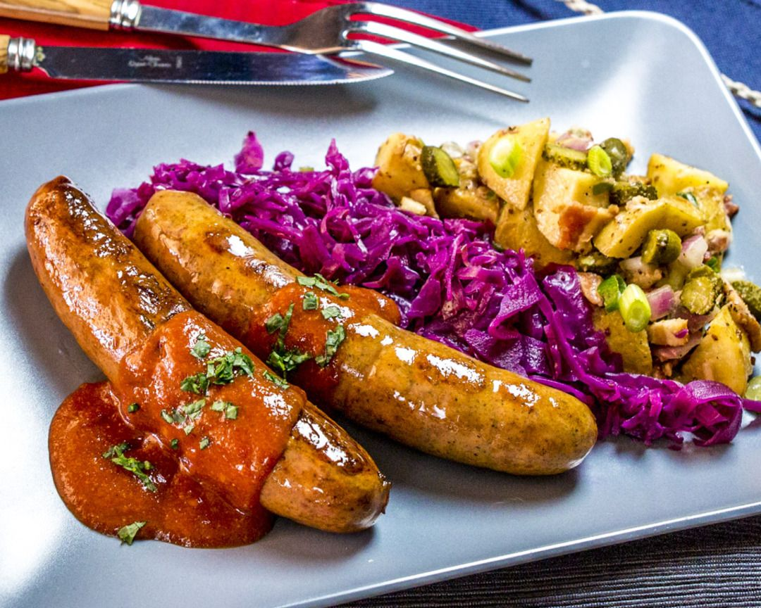 recipe: beer braised brats and cabbage [8]