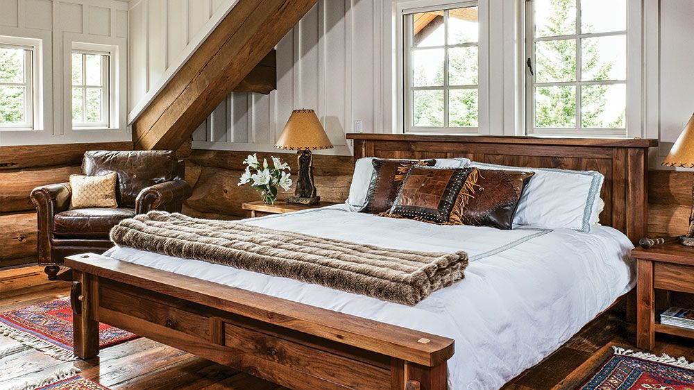 you have to see inside this norwegian inspired log home a room of rh pinterest com