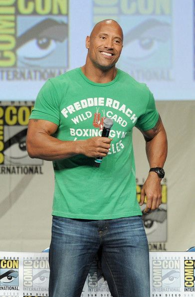 Dwayne Johnson Photos  - Paramount Studios Presentation at Comic-Con - Zimbio