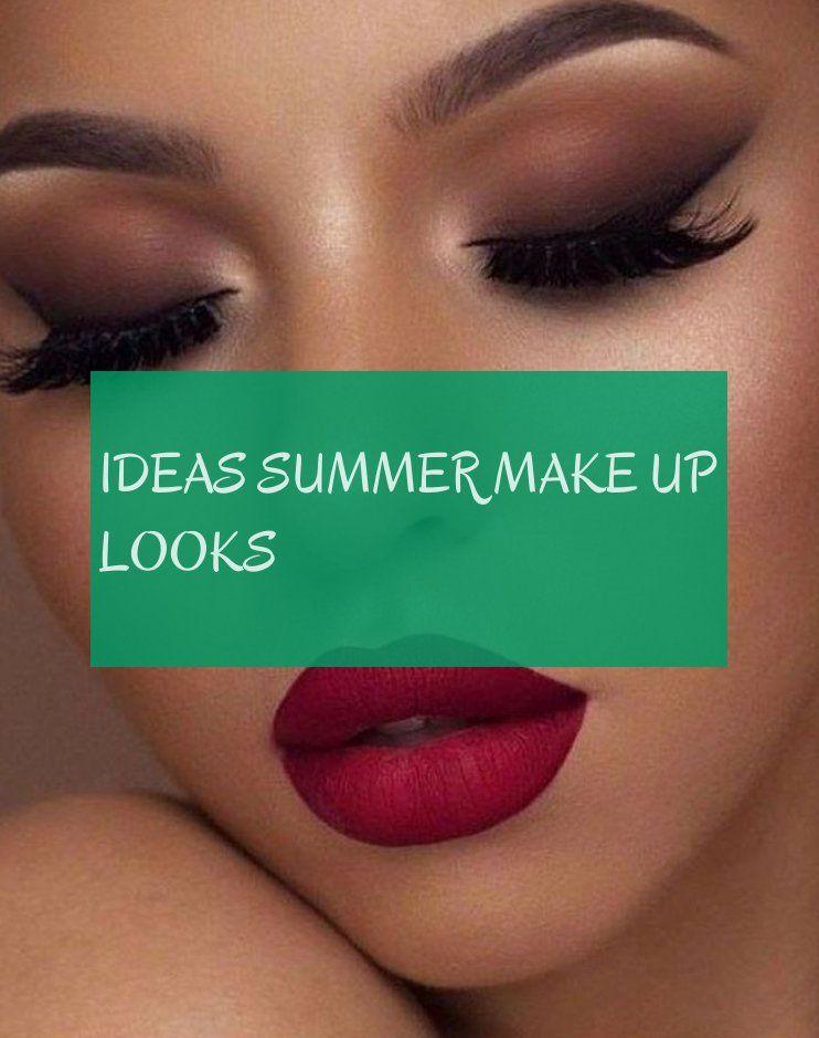 Ideas summer make up looks
