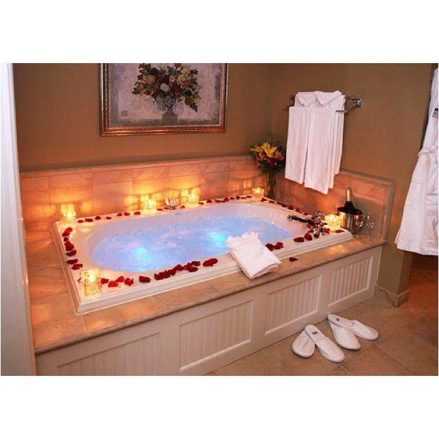 Romantisch bad #Candles #Valentine Friedrichslust Marbach am - aufblasbare mobile badezimmer