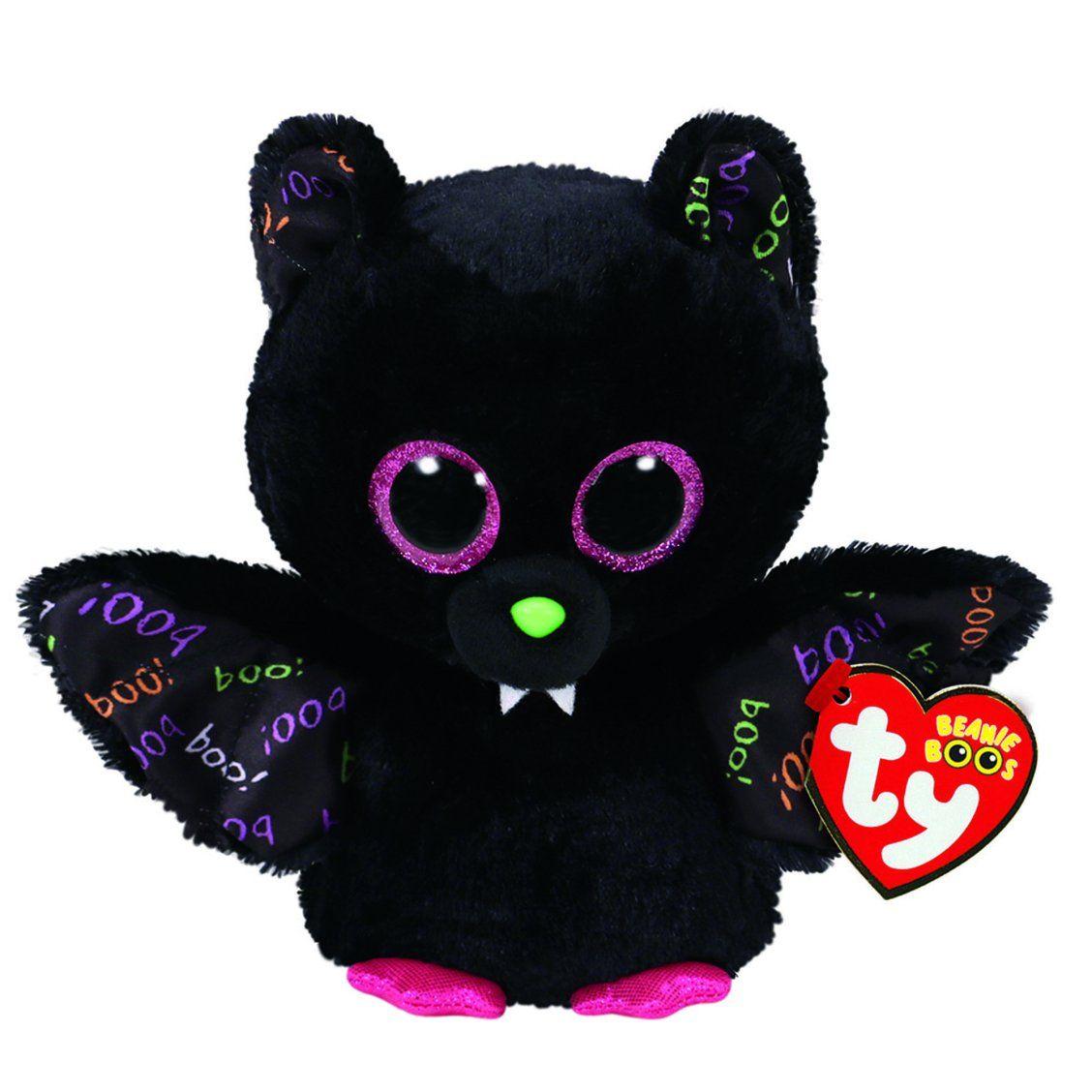 TY Beanie Boos Bat Plush Toy   Boo plush, Halloween beanie boos, Plush  animals