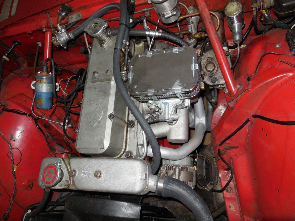 1963 Sunbeam Alpine Engine | cars | Pinterest | Engine, Classic cars ...