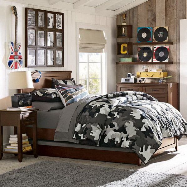 best home boys bedroom ideas with military bedding sets theme