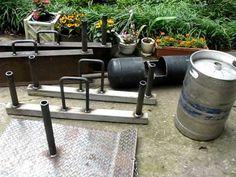 homemade strongman log  homemade strongman equipment